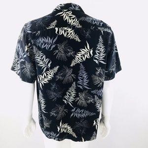 AFTCO Shirts - AFTCO Wyland Lionfish Floral Hawaiian Silk Shirt M